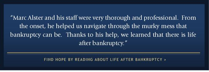 Read About Life After Bankruptcy